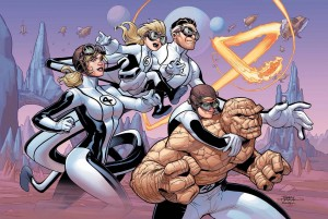 fantastic four 4 cover color by terrydodson
