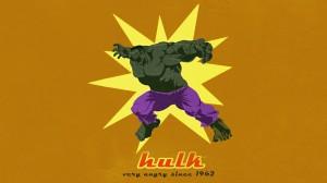 hulk – very angry since 1962