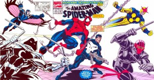 Amazing spider-man and friend