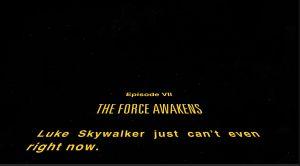 Star Wars 7 Scroll