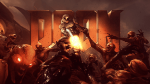 DOOM Title Card