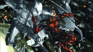 Deadpool vs Moon Knight