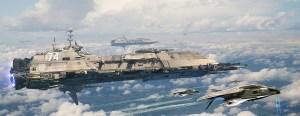 Explorer Navy Ship by Jaime Jasso