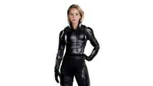 Jennifer in Black Armor