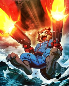 Rocket Raccoon – Double Shot