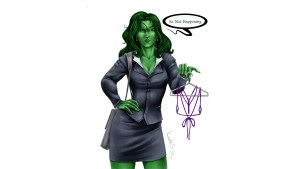 she hulk – so not happening