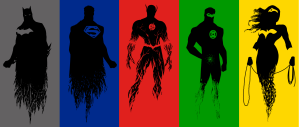 the JLA is colorful