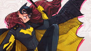 Batgirl has a few ear piercings