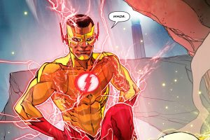Kid Flash is like WHOA