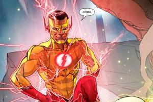 Kid Flash is like WHOA