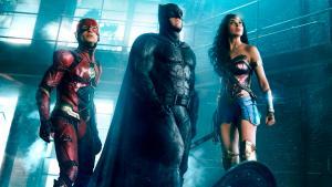 The Flash, Batman and Wonder Woman