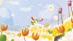 Baby Mario and Yoshi