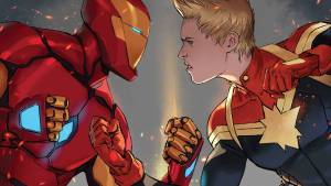 Iron Man vs Captain Marvel