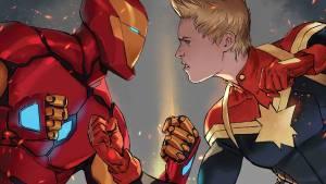 Iron Man vs Captain Marvel