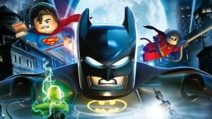 Lego batman, superman and robin