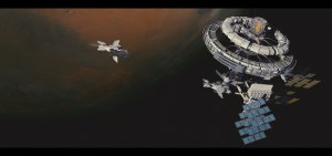 Space Station by Brad Wright