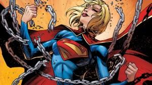 Supergirl breaking her bonds