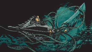 The nautilus vs a squid