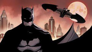 Batman and his Batplane