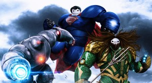 Baymax Justice League