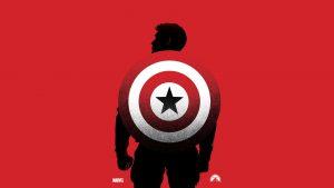 Captain American Backpack