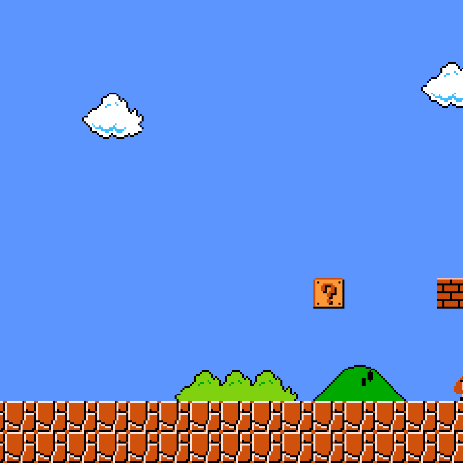 Classic Mario Background