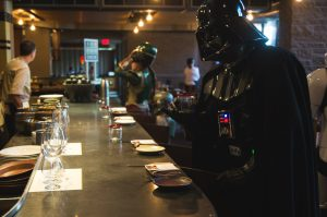 Darth Vader at the bar