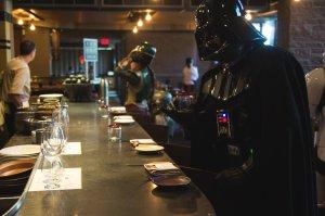 Darth Vader at the bar