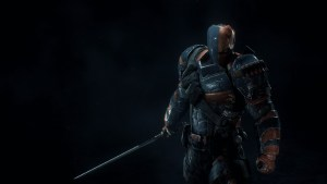 Deathstroke in the shadows