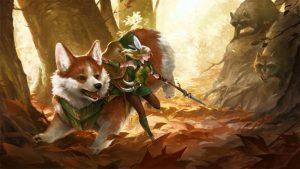 Fairy and Corgi Mount Vs Evil Trash Pandas