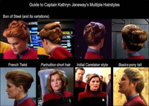 Guide To Janeway's Hair