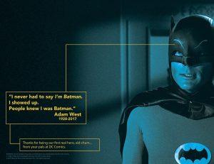 I never had to say I'm Batman