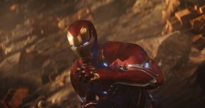 Iron man is still shiney