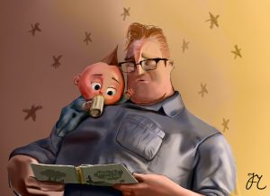 Jack Jack and Dad