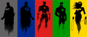 Justice League Vertical alignment
