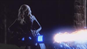 Killer Frost with Flash Gun