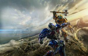 Optimus Primus vs Yellow Bot Boy