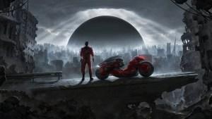Red Microbike