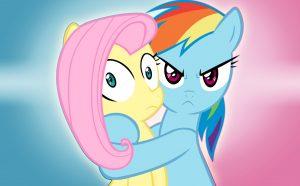 Shocked Ponies