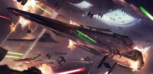 Star Wars Fleet Battle