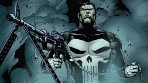 The Punisher has a strong grip