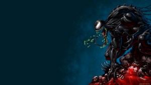Venom on a pile of skulls