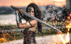 Wonder Woman Sparks Cosplay