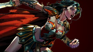 Wonder Woman in battle armor