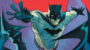 batman throws his baterang at your face