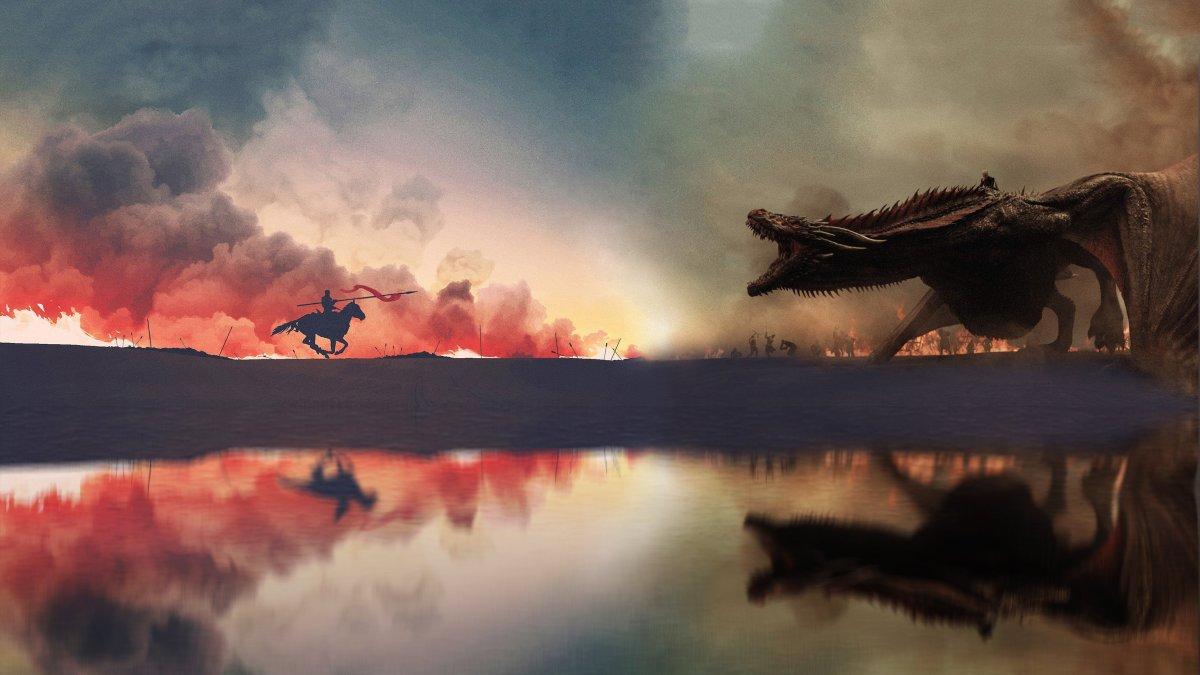 game of thrones dragon assault