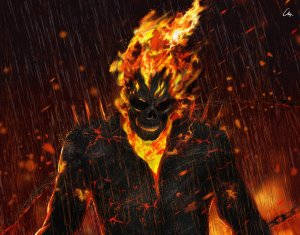 ghost rider artwork hd kv