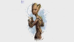 groot in avengers infinity war 2018 o0