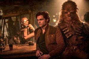han solo and chewbacca in solo a star wars story entertainment weekly tz