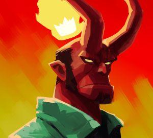hellboy art bv